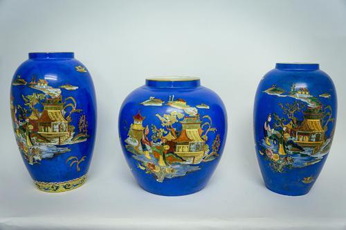 3 Rare Mikado Vases (1 of 5)
