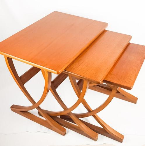 Teak Nathan Nest of Tables (1 of 10)