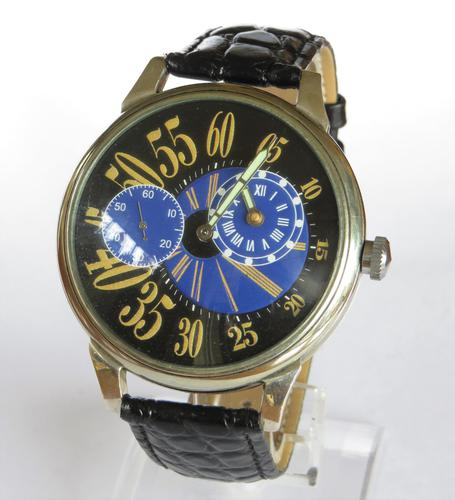 Gents Over-sized Molnia Regulator Wrist Watch (1 of 5)