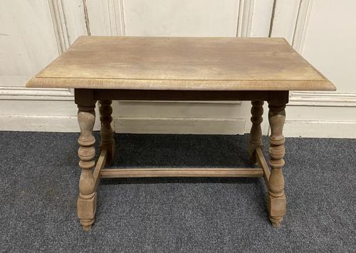 Bleached Oak Coffee Table (1 of 9)