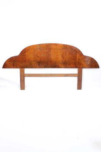 Large Art Deco Walnut Headboard (1 of 13)