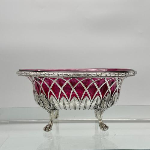 18th Century Antique George III Sterling Silver Dish London 1795 William Pitts & Joseph Preedy (1 of 11)