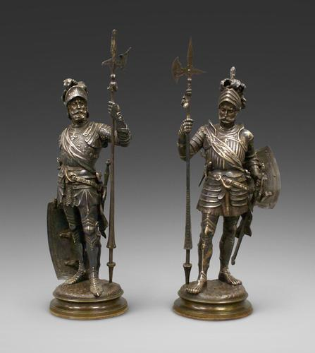 Pair of Bronzes by J. Boese (1 of 6)