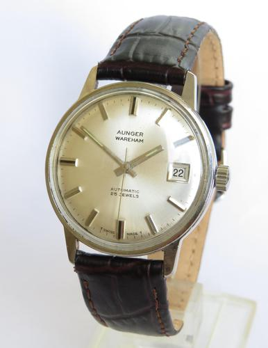 Gents Wrist Watch from Aunger of Wareham (1 of 4)
