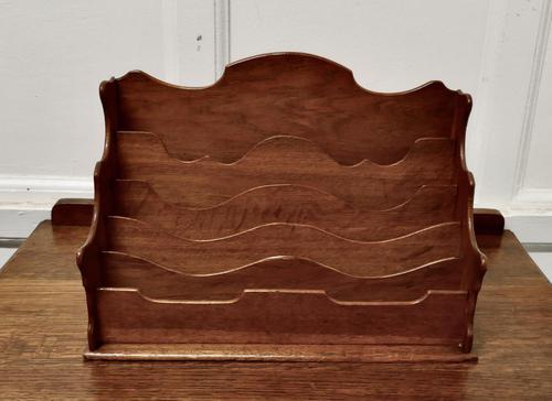 Charming Arts & Crafts Golden Oak Stationary Box (1 of 5)
