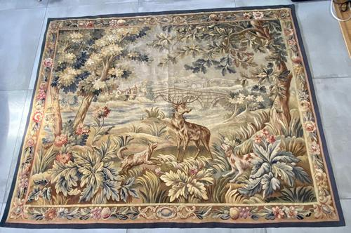 Large 19th Century Tapestry (1 of 5)