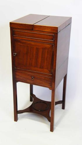 Georgian  Mahogany, 2 tier washstand, bedside table or  plant stand (1 of 15)