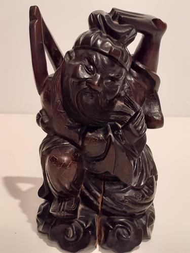 Chinese Qing Dynasty, Hardwood Carving (1 of 3)