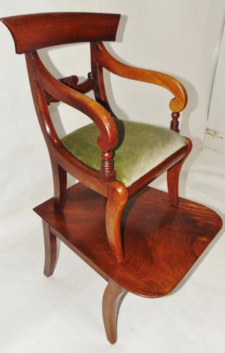 Regency Mahogany Child's Chair on Stand (1 of 7)