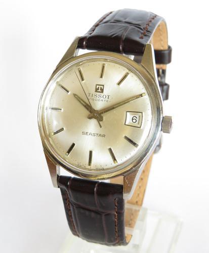 Gents 1963 Tissot Visodate Seastar wrist watch (1 of 5)