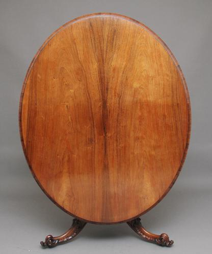 19th Century Rosewood Breakfast Table (1 of 6)