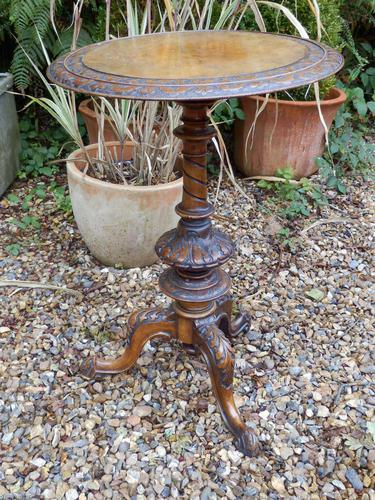 Pedestal Table, Victorian (1 of 7)
