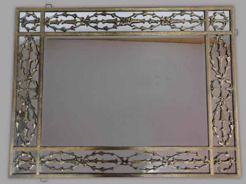Large Impressive Metal Mirror (1 of 3)