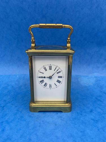 Victorian 8 Day  Brass Carriage Clock (1 of 13)