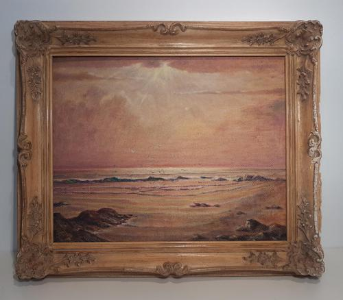"Oil on Board ""Seascape"", Ivor Smith (1 of 5)"