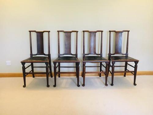 Arts & Crafts, Morris & Co - William Morris, Hampton Court Chairs c.1910-1912 (1 of 22)