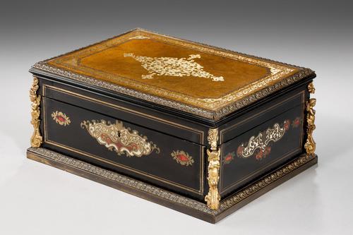 Mid 19th Century French Ebonized Box (1 of 5)
