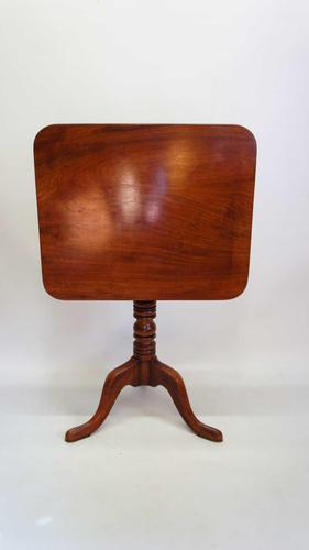 Late Georgian Tilt Top,  Mahogany Occasional  Table (1 of 15)