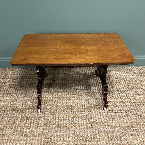Mahogany Victorian Antique Coffee Table (1 of 5)
