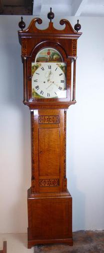 Scottish Longcase Clock E. Maule Coldstream (1 of 13)