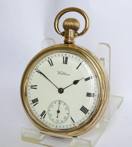 1912 Waltham Traveller Pocket Watch (1 of 5)