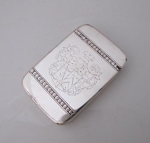 Rare late 17th/Early 18th Century London Made Silver Snuff Box (1 of 7)