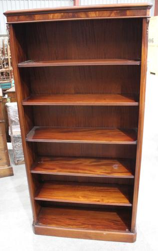 1900's Solid Mahogany Bookshelves with 5 Adjustable Shelves (1 of 3)
