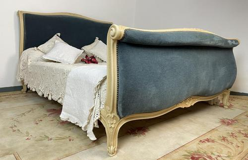 Original French Roll End Style Double Bed Frame (1 of 12)