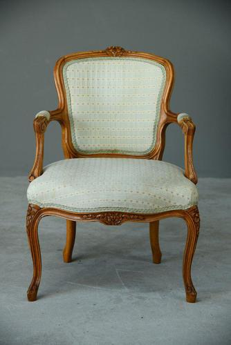 Louis XVI Style Occasional Chair (1 of 8)
