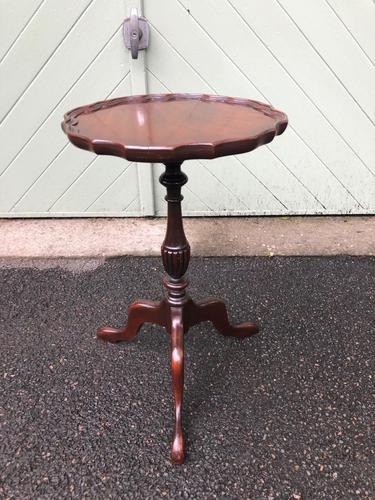 Antique Mahogany Tripod Wine Table (har) (1 of 3)
