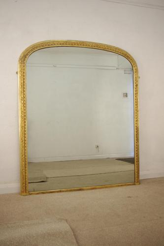 Victorian Gilt Arched Top Overmantle (1 of 10)