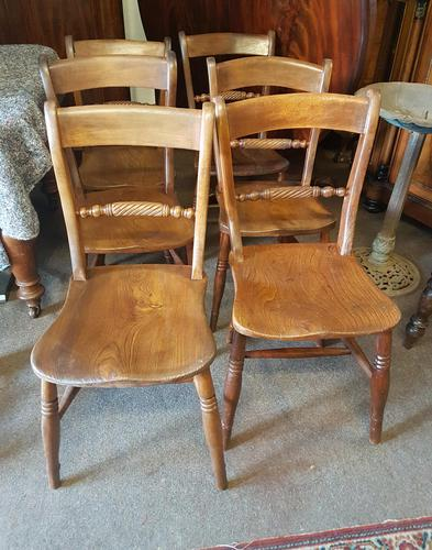 Antique Kitchen Chairs (1 of 6)