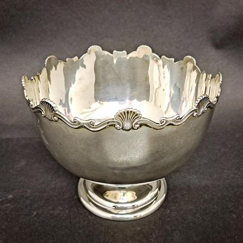 20th Century Mappin & Webb Silver Bowl (1 of 4)