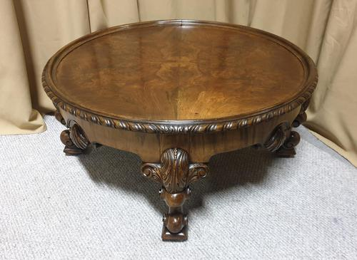 Lovely Walnut Coffee Table (1 of 10)