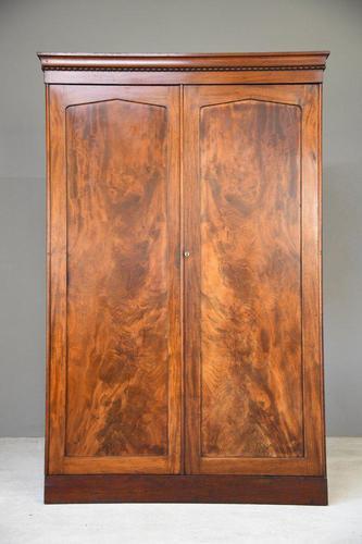 Victorian Mahogany Wardrobe (1 of 13)