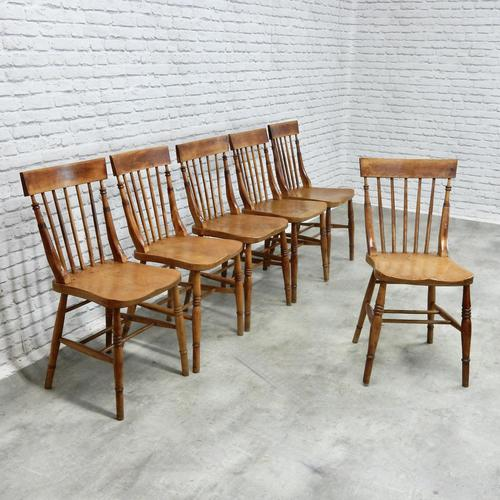 Set of 6 Windsor Kitchen/dining Chairs, Lincolnshire Origins (1 of 6)