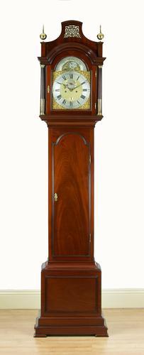Wright & Sellon of London, Mahogany Longcase / Grandfather Clock c.1760 (1 of 12)