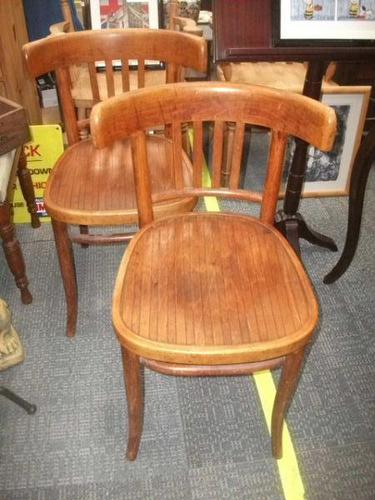 Pair of Bentwood Chairs (1 of 2)