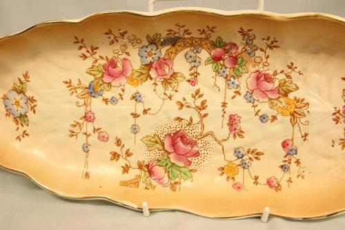 Antique Crown Devon Shaped Serving Dish (1 of 8)