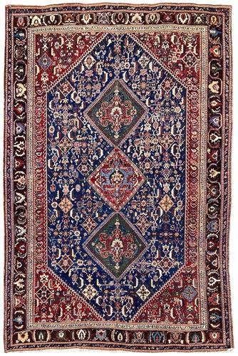 Antique Qashqai Rug (1 of 11)