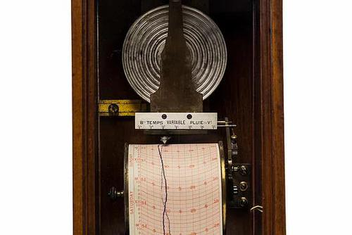 Early Wall Barograph by Redier (1 of 4)