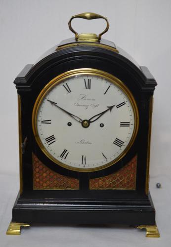 Brown, London Georgian Twin Fusee Bracket Clock (1 of 6)