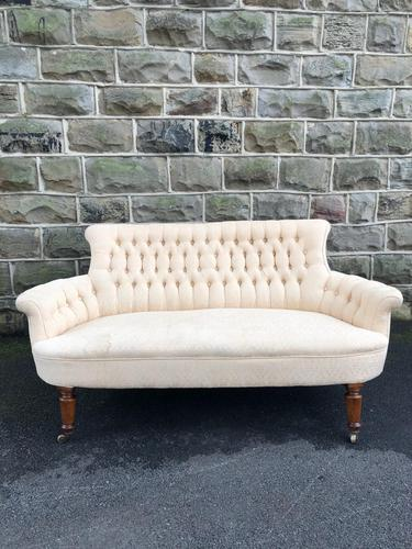 Antique English Upholstered Sofa (1 of 8)