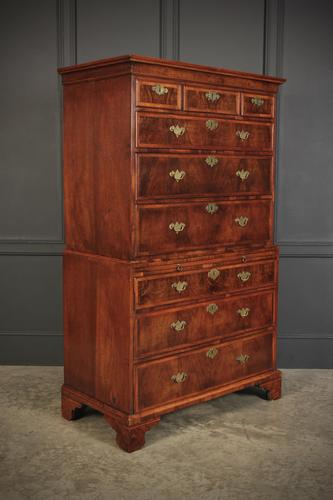 Early 18th Century Walnut Chest on Chest (1 of 14)