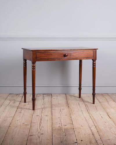 19th Century Mahogany Side Table (1 of 7)