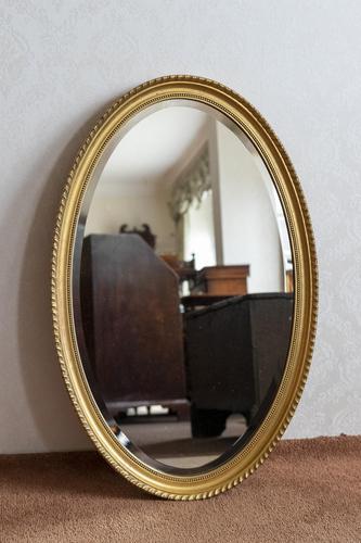 Giltwood Mirror c.1900 (1 of 2)
