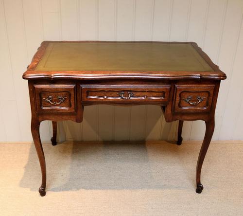 French Oak Writing Desk (1 of 8)