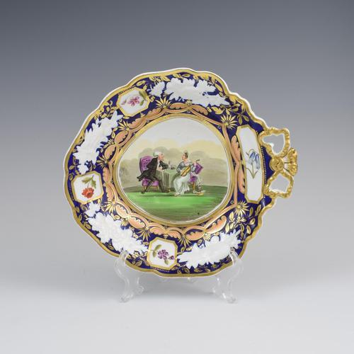 Regency New Hall Bone China Dessert Dish Dr. Syntax Series Pattern 2679 (1 of 9)