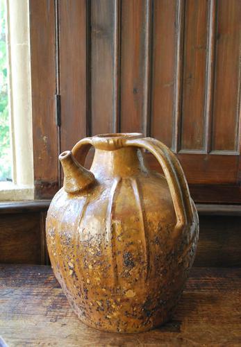 Antique Earthenware Oil Jar (1 of 5)