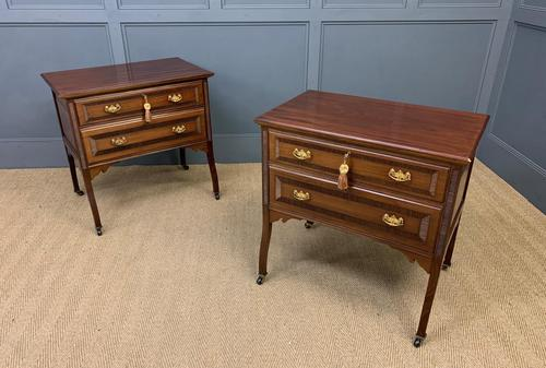 Pair of Mahogany Chests of Drawers (1 of 17)